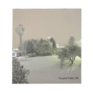 Crystal Falls, MI  Note Cube