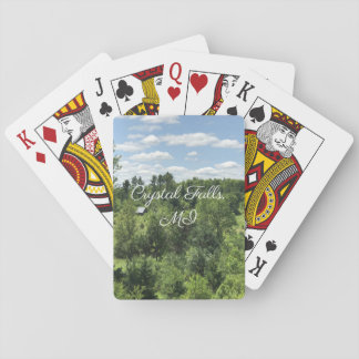 Crystal Falls, MI Playing Cards