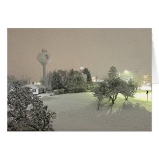 Crystal Falls, MI Winter Note Cards