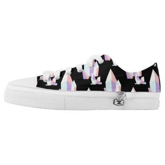 Crystal Feet Low-Top Sneakers