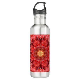 Crystal Fire Mandala 710 Ml Water Bottle