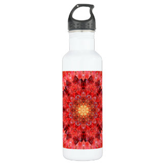 Crystal Fire Mandala 710 Ml Water Bottle