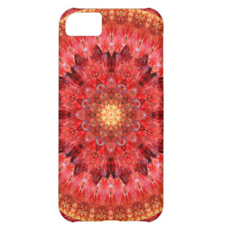 Crystal Fire Mandala Case For iPhone 5C
