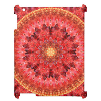 Crystal Fire Mandala Case For The iPad