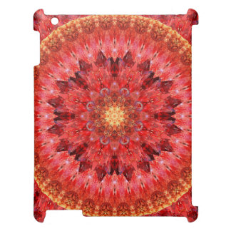 Crystal Fire Mandala iPad Case