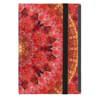 Crystal Fire Mandala iPad Mini Case