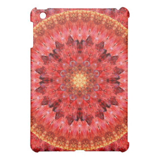 Crystal Fire Mandala iPad Mini Cases