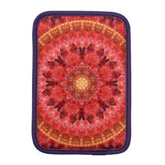 Crystal Fire Mandala iPad Mini Sleeve