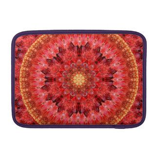 Crystal Fire Mandala MacBook Sleeve