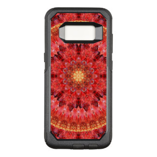 Crystal Fire Mandala OtterBox Commuter Samsung Galaxy S8 Case