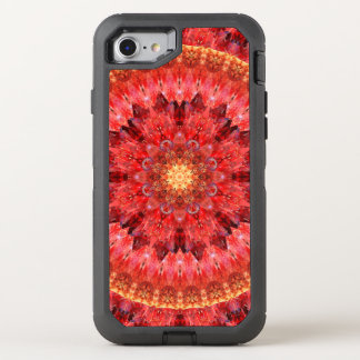 Crystal Fire Mandala OtterBox Defender iPhone 8/7 Case