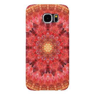 Crystal Fire Mandala Samsung Galaxy S6 Cases