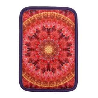 Crystal Fire Mandala Sleeve For iPad Mini