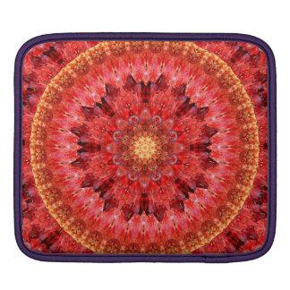 Crystal Fire Mandala Sleeve For iPads