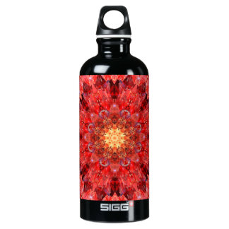 Crystal Fire Mandala Water Bottle