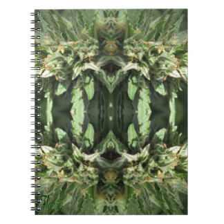 Crystal Flames 1 Notebook