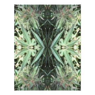 Crystal Flames 2 Letterhead