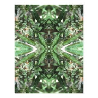 Crystal Flames 3 Letterhead