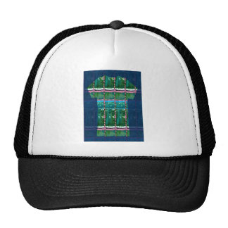 CRYSTAL GREEN Emerald Stone Sparkle GIFTS FUN Trucker Hat