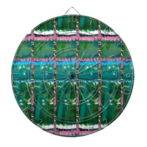 CRYSTAL Green Graphic Pattern Decoration GIFTS Dartboards