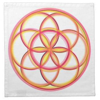 Crystal Grid Cloth Seed of Life