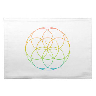 Crystal Grid Cloth - Seed Of Life Placemat