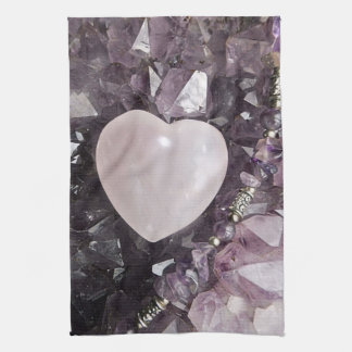 Crystal Heart Kitchen Towel