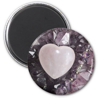 Crystal Heart Magnet