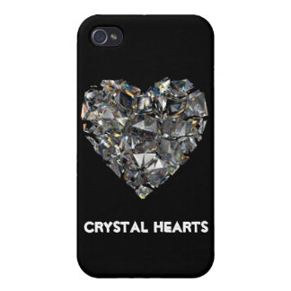Crystal Hearts iPhone 4 CASE