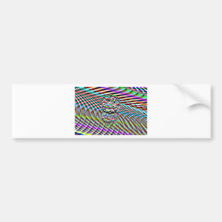 Crystal High Colours Bumper Sticker