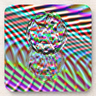 Crystal High Colours Coaster