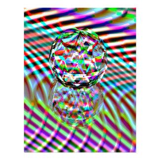 Crystal High Colours Letterhead