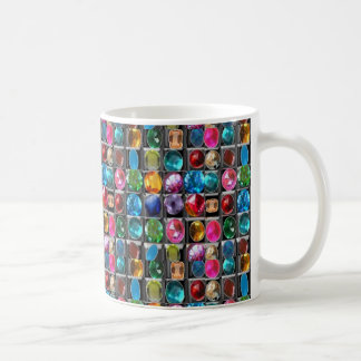 Crystal Jewel Stones pattern Coffee Mug