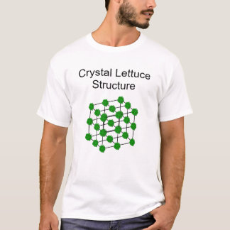 Crystal Lettuce Structure T-Shirt