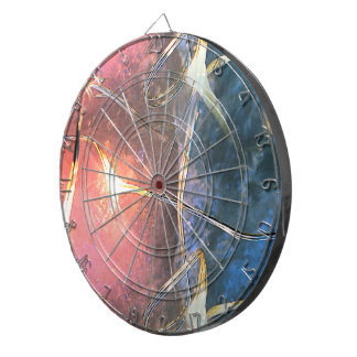 Crystal Lights Dartboard