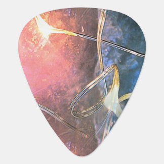 Crystal Lights Guitar Pick