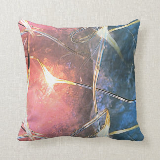 Crystal Lights Throw Pillow