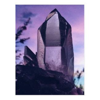 crystal lovers postcard