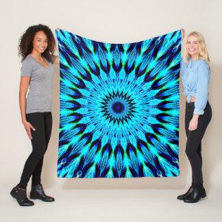 Crystal Mandala Fleece Blanket