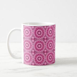 Crystal Mandala (rose quartz) Coffee Mug
