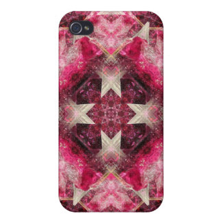 Crystal Matrix Mandala Cases For iPhone 4