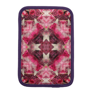 Crystal Matrix Mandala iPad Mini Sleeves