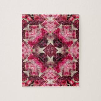 Crystal Matrix Mandala Jigsaw Puzzle