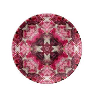 Crystal Matrix Mandala Plate