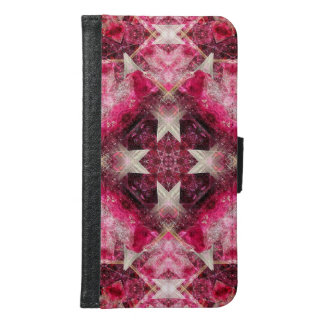 Crystal Matrix Mandala Samsung Galaxy S6 Wallet Case