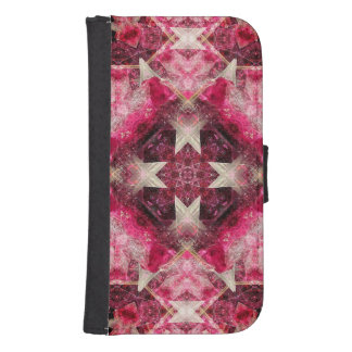 Crystal Matrix Mandala Samsung S4 Wallet Case