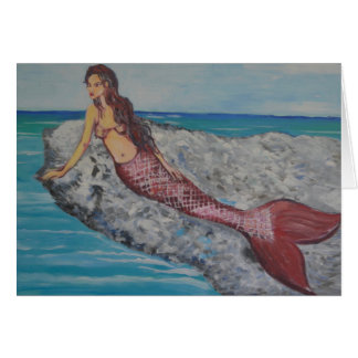 Crystal Mermaid Card