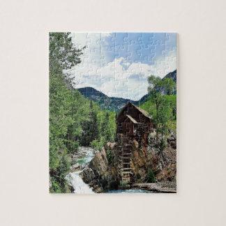 Crystal Mill Colorado Jigsaw Puzzle