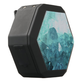 Crystal Mint Black Bluetooth Speaker