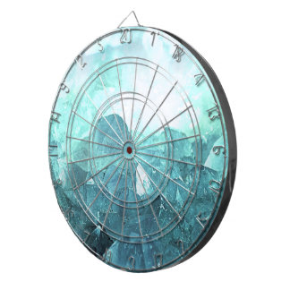 Crystal Mint Dartboard